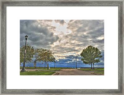 Framed Print featuring the photograph Open Heavens  by Michael Frank Jr