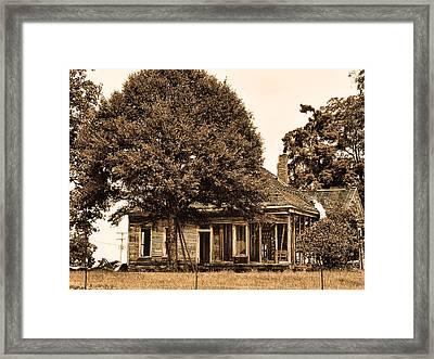 Open House A La Alabama Framed Print by Frank Feliciano