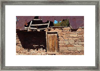 Open House With A Skylight Framed Print by James Granberry