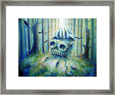 Framed Print featuring the painting Open Mind by Heather Calderon