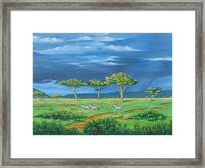 Open Plains Framed Print by Deon West