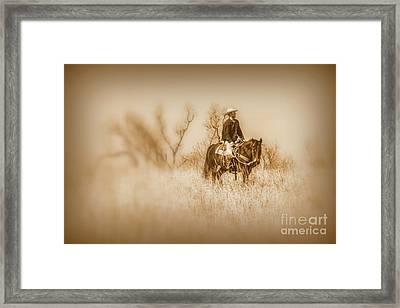 Open Range Framed Print