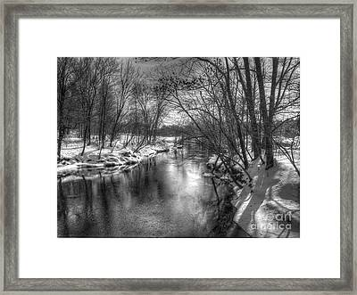 Open River Framed Print