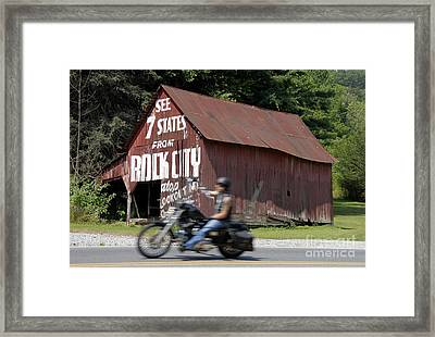 Open Road Framed Print by David Lee Thompson