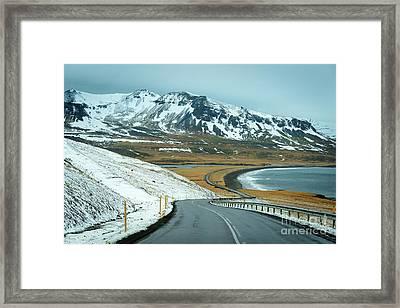 Open Road Framed Print by Svetlana Sewell