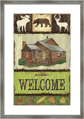 Open Season Panel Framed Print