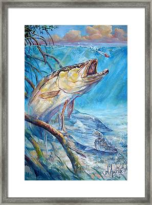 Open Season Framed Print by Tom Dauria