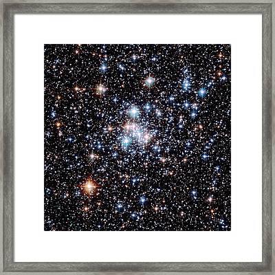 Open Star Cluster Ngc 290 Framed Print