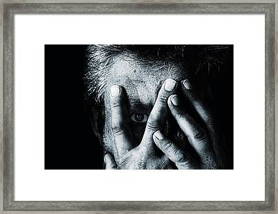 Open The Sadness Framed Print by Stefan Eisele