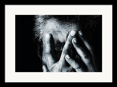 Self Portrait Photographs Framed Prints