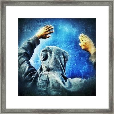 Open The Sky Framed Print