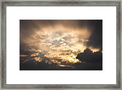 Open The Sky Framed Print by Cco