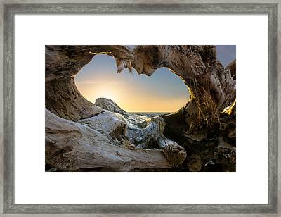 Open The Window Framed Print by Dmitry Kulagin