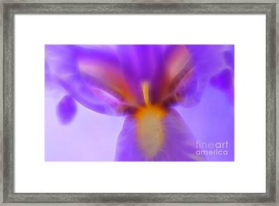 Open To Love Framed Print by Krissy Katsimbras