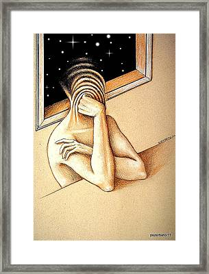 Open To The Infinite Framed Print by Paulo Zerbato