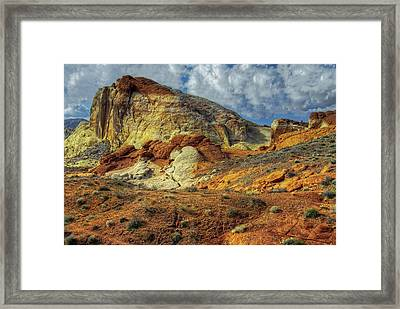 Open Trail Framed Print by Stephen Campbell
