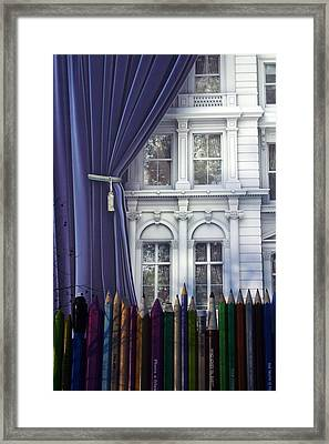 Open Up Your Day Framed Print by Jez C Self