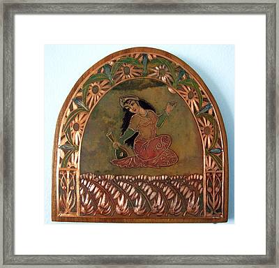 Open Vessels In The Garden Of Delights Framed Print