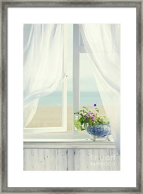 Open Window Framed Print by Amanda Elwell