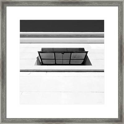 Open Window- By Linda Woods Framed Print