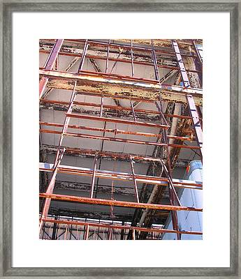 Open Windows Framed Print by Edmund Akers