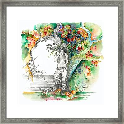 Open Your Eyes -the World Is Changing Framed Print