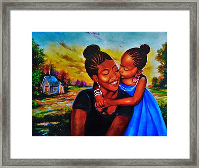 Open Your Eyes To Life Framed Print