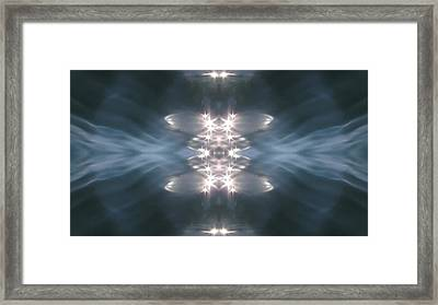 Expand Your Senses 3 Framed Print by Quantum Space