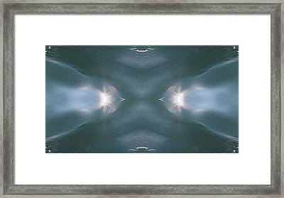 Expand Your Senses 2 Framed Print by Quantum Space