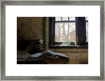 Opened Framed Print by Kevin Brett