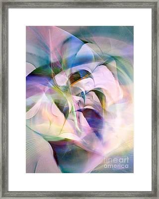 Opening 7 Framed Print