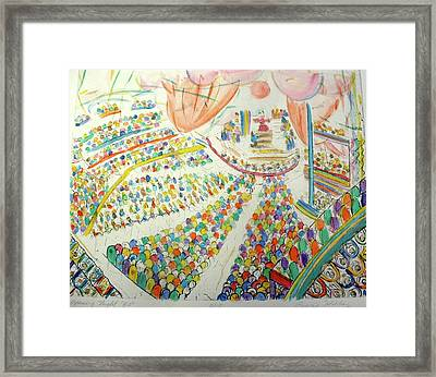Opening Night Framed Print by Bonnie Wilber