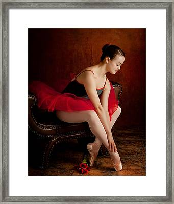Opening Night Framed Print by Connie Zimmerlich