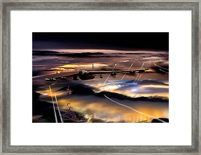 Opening Night Framed Print by Peter Chilelli
