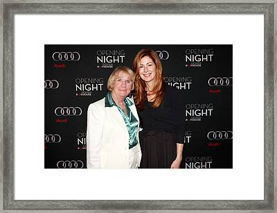 Opening Night With Despertate Housewives Castdana Delany And  Framed Print