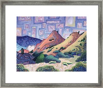 Opening The Dream Window Framed Print by Dale Beckman