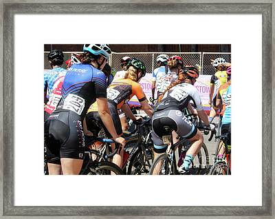 Opening The Flood Gates Framed Print by Steven Digman