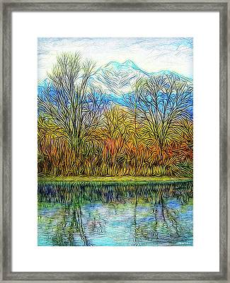 Opening To Stillness Framed Print