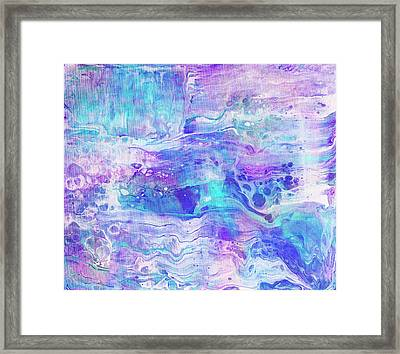 Opening Wavelengths Light Framed Print