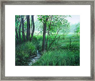 Opening Framed Print by William  Brody