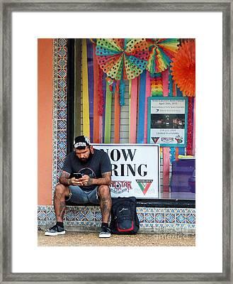Openings Framed Print