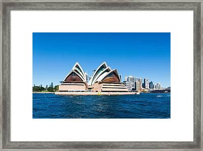 Opera House Framed Print by Niel Morley