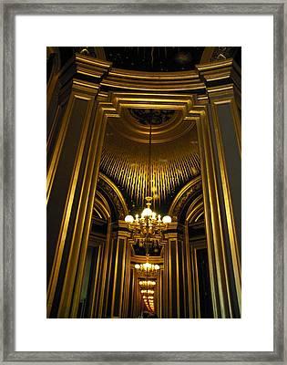 Opera Mirrors II Framed Print