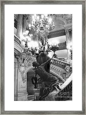 Opera Staircase Framed Print