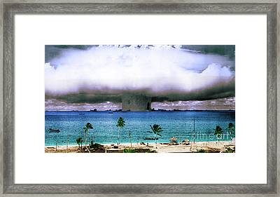 Operation Crossroads Baker, 1946 Framed Print by Science Source