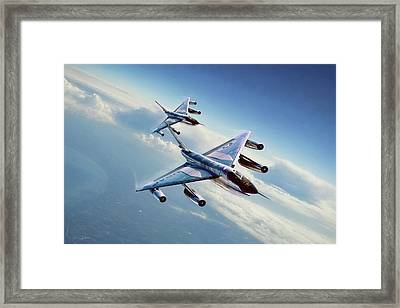 Framed Print featuring the digital art Operation Heat Rise by Peter Chilelli
