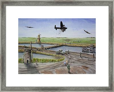 Operation Manna IIi Framed Print by Gale Cochran-Smith