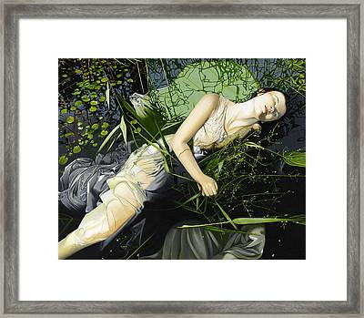 Ophelia Framed Print by Andrew Harrison