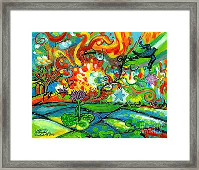 Ophelia At Sunrise Framed Print