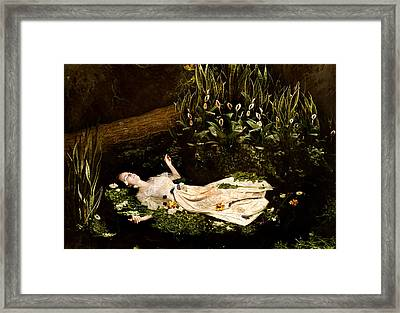 Ophelia Framed Print by Jacquie Thuemler